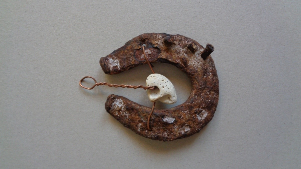 Hag Stone And Horseshoe Amulets The Cotswold Coven In the early days, the development of ideas and new products was outsourced to them. hag stone and horseshoe amulets the