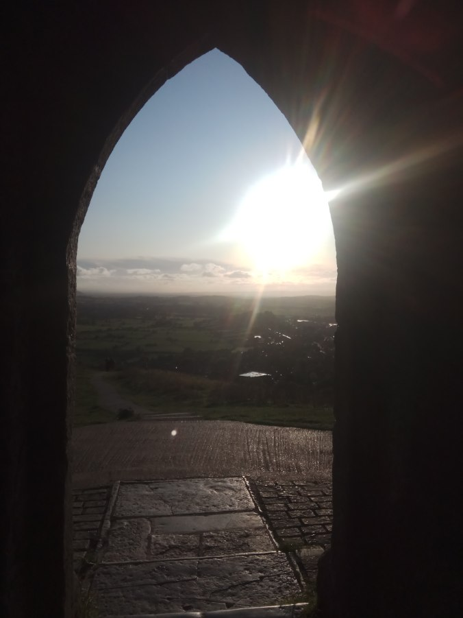 Glastonbury Tor on Equinox